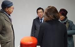 """이외수 만난 박원순 """"문화예술 관심 갖고 있다"""""""