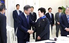 문재인 대통령, 5.18 광주지역 원로들 만났다