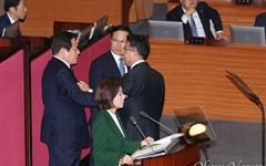 """이해찬 """"이런 연설 처음... 한국당, 다시 집권할 일 결코 없을 것"""""""