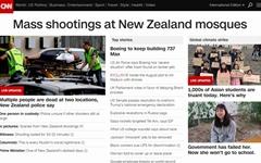 뉴질랜드 이슬람 사원서 '인종혐오' 총기난사... 40명 사망
