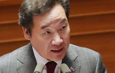 """이낙연 """"죄다 니들 탓?""""... 한국당에 한방 먹인 총리"""