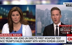 """외신 """"김정은 신형무기 시험 참관, 미국 압박하려는 듯"""""""