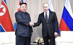 """푸틴 """"러, 한반도 긴장완화 협력... 정치·외교적 해결 진전 노력"""""""
