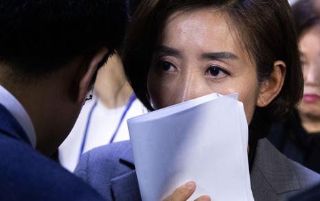 """'전자 입법'에 뚫린 한국당 나경원 """"불법 의안번호"""" 반발"""