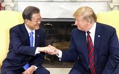 """미 국무부 """"트럼프, 한국의 대북지원 지지 밝혔다"""""""