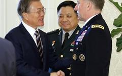 """주한미군사령관 """"북 단거리 미사일 발사는 통상적 훈련"""""""