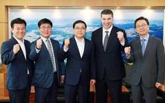 허성무 창원시장, 한국지엠 카허 카젬 사장과 지역현안 공유