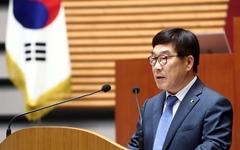 """신동헌 광주시장 """"해공은 민주지도자, 기념 상 제정 문제 없어"""""""