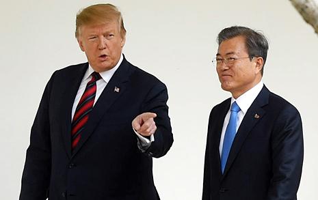 트럼프 대통령 29일 공식방문... 30일 한미정상회담