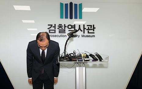 """문무일 """"용산참사 사건, 임기 내 사과 여부 검토"""""""