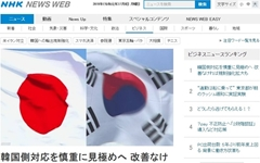 "NHK ""한국 수출규제 확대할 수도""... 공작기계·탄소섬유 거론"