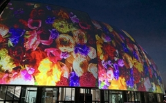 거제, 매일 저녁 '지붕 없는 미술관 빛의 영상' 연출