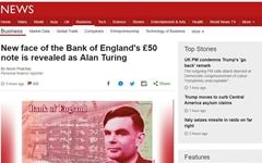 '이미테이션 게임'의 천재 수학자, 영국 지폐 인물로 선정