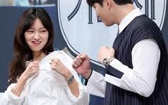 [오마이포토] '미스터 기간제' 최유화-윤균상, 우리는 라이벌