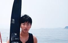 15실 오민수 중학생, 마산~비진도 수상스키 '기네스 기록'