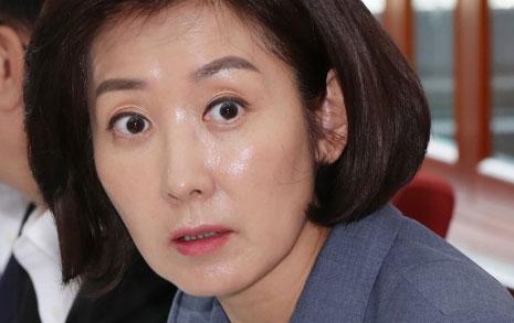 """나경원, 청소년 '한국당 해체' 노래에 """"아동학대"""" 비판"""