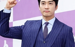 [오마이포토] '위대한 쇼' 송승헌, 국민아빠 화이팅!