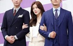 [오마이포토] '위대한 쇼' 임주환-이선빈-송승헌, 위대한 선남선녀