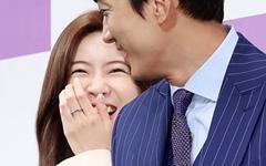 [오마이포토] '위대한 쇼' 이선빈-송승헌, 바라만봐도 까르르