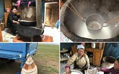 몽골 요구르트 증류주는 무슨 맛일까