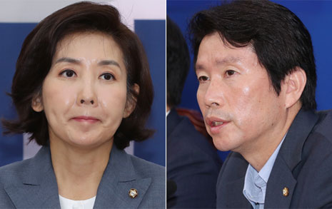 """한국당 """"조국 부인, 구속수사 해야"""" vs. 민주당 """"총장 성향 의심"""""""