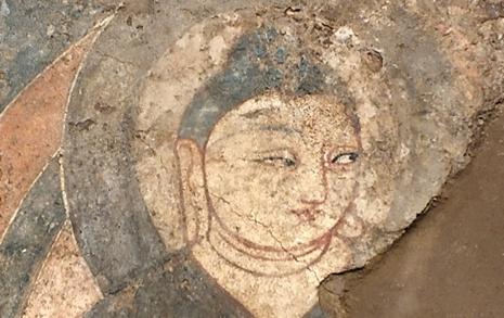 일본인이 훔친 중국 불교 벽화, 왜 한국에서 발견됐을까