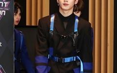 [오마이포토] '엠카' X1 김요한, 센터다운 걸음