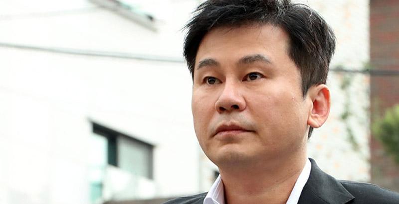 '투자자 성접대 의혹' 양현석, 불소의견 검찰 송치