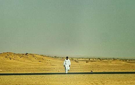 수단에서의 오줌 누기, 난생 처음 보는 광경