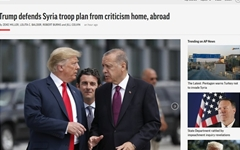 """트럼프 '시리아 철군론'에 공화당도 반발 """"동맹 배신하나"""""""