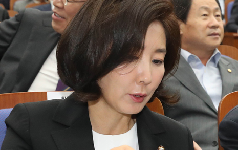 """""""수사대상에 공천가산점""""?... 나경원의 달콤한 말장난"""