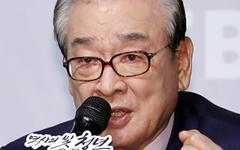 [오마이포토] 'EBS 다큐' 이순재, 역사의 빛을 위한 결의!