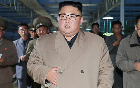 김정은 북한 국무위원장, 문 대통령에게 '조의문' 보냈다