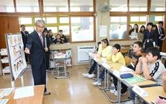 박종훈 경남교육감, 다문화교육으로 한국어 수업