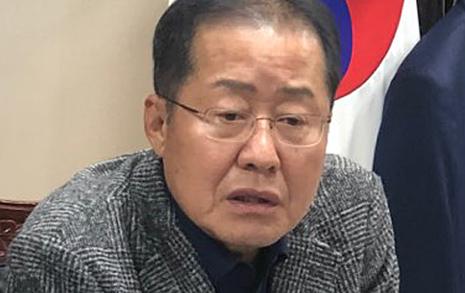 """창원성산 출마설에 즉답한 홍준표 """"안 나갑니다"""""""