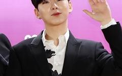 [오마이포토] '브이라이브 어워즈' 몬스타엑스 기현, 귀요미 인사