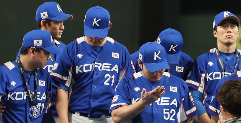 '양현종 무너진' 한국, 일본에 역전패 당하며 준우승