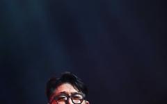 [오마이포토] 김현철, 희망을 담아