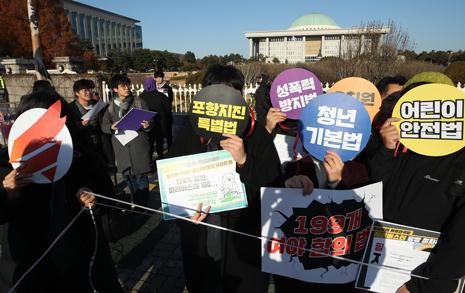 """'민식이법' 말고 이 법안도 막혔다... """"자아분열 필리버스터"""""""