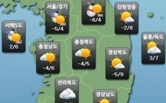 [주말날씨] 전국 대체로 맑음... 중부 토요일 오전 눈·비