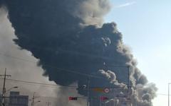 [사진] 칠곡 가산IC 인근 공장서 화재