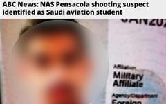 """미국 군 기지서 또 총격, 12명 사상... """"사우디 장교 소행"""""""