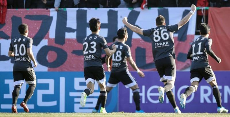 부산 아이파크, 4년 기다린 K리그1 무대로 오르다