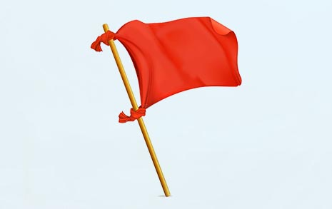 붉은 깃발법이 한국에서 고생이 많네