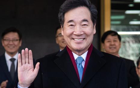 [오마이포토] '최장수 총리' 이낙연의 퇴임