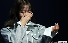 [오마이포토] 김희진, 진짜 우는 거 아니에요!