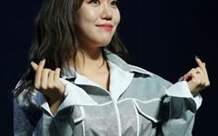 [오마이포토] 김희진, 사랑해요 팬여러분