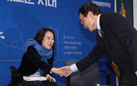 최혜영의 '뭉클함' 배반하는 이해찬의 '무의식'