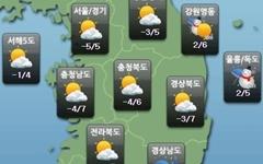[날씨] 주말, 추위 풀리며 기온↑…미세먼지 '나쁨' 주의
