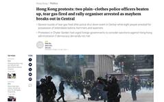 홍콩서 '완전 직선제' 요구 대규모 집회... 15만 명 운집